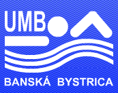 Znak plivačkog kluba UMB Banska Bistrica i link na njihovu matičnu stranicu