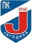 """Знак пливачког клуба """"Јагодина"""" из Јагодине, организатора овог такмичења"""