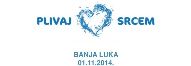 Znak plivačkog kluba 22. April iz Banjaluke i link na njihovu stranicu