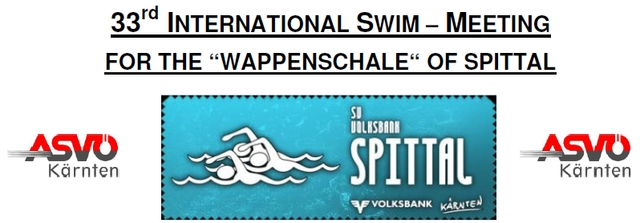 33nd INTERNATIONAL SWIM – MEETING