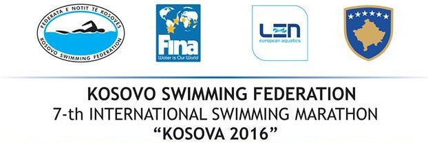 "7. Међународни пливачки маратон ""Косово 2016"""