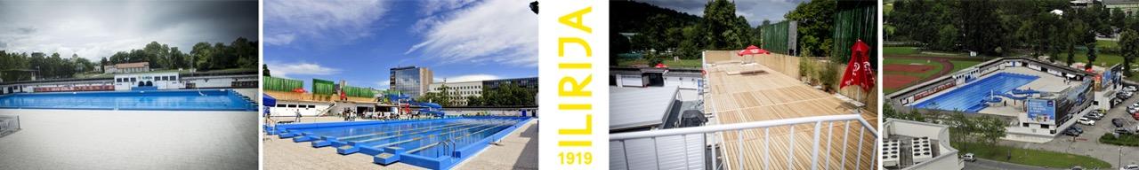 Слика базена и околине
