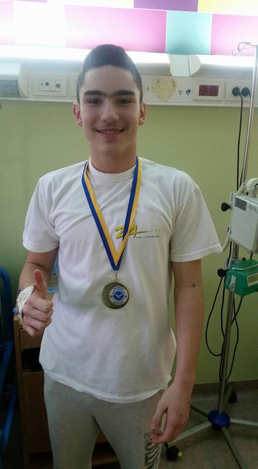 Ријад Ђулић, такмичар коме желимо што бржи и успешнији опоравак