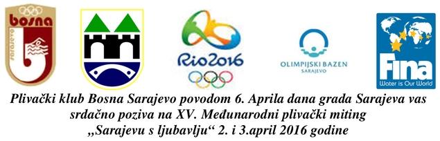 Знак такмичења једног од врхунских клубова из Босне и Херцеговине и линк на њихову страницу