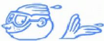 Знак пливачког клуба 11. Април и линк на њихову званичну страницу