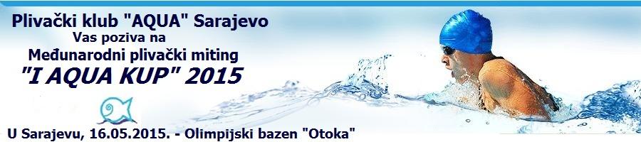 Plivački klub Aqua, Sarajevo i link na njihovu Facebook stranicu