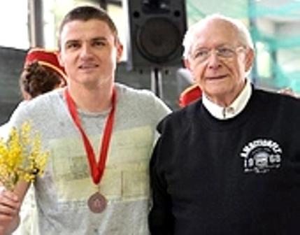 Наш истакнути спортски радник са бугарским шампионом Красимиром Заховим