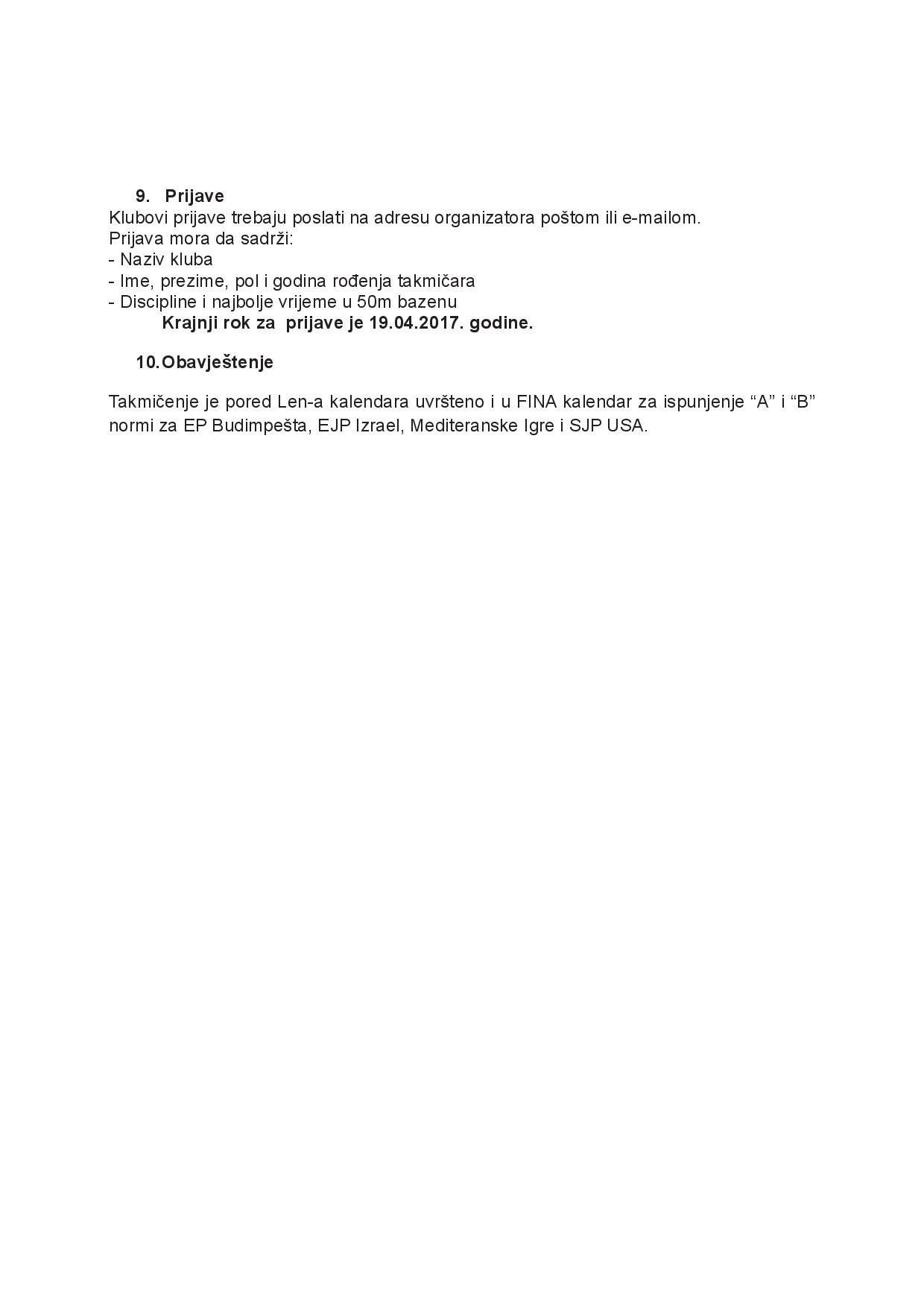 Оригиналне пропозиције организатора, страна 5