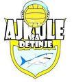 Знак пливачког клуба Ајкуле са Ђезиње из Ужица и линк на њихову званичну Facebook страницу