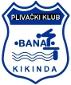 Знак пливачког клуба Банат из Кикинде и линк на њихову званичну презентацију
