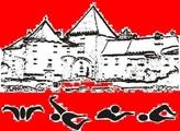 """Знак пливачког клуба """"Барок"""" из Вараждина, организатора овог такмичења и линк на страницу организатора"""