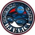 """Знак пливачког клуба """"Бјелица"""" из Врбаса, организатора такмичења"""