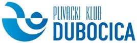 """Znak plivačkog kluba """"Dubočica"""" i link na njihovu Facebook stranicu"""