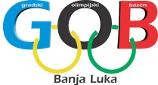 Знак Градског Олимпијског базена у Бања Луци и линк на њихову званичну страницу