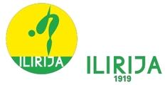 """Znak plivačkog kluba """"Ilirija"""" i link na njihovu zvaničnu stranicu"""