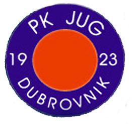 """Plivački klub """"Jug"""" iz dubrovnika, njihov znak i link na matičnu stranicu kluba"""