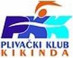 """Знак пливачког клуба """"Кикинда"""" из Кикинде и линк на њихову званичну страницу"""