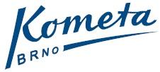 """Знак пливачког клуба """"Комета"""" из Брноа, Чешка Република и линк на њихову матичну страницу"""