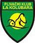 """Znak plivačkog kluba """"LA Kolubara"""" iz Lazarevca, organizatora takmičenja"""