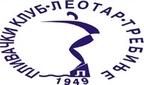 Знак пливачког клуба Леотар из Требиња и линк на њихову званичну страницу