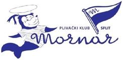 """Знак пливачког клуба """"Морнар"""" из Сплита и линк на њихову матичну страницу"""