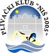 "Пливачки клуб ""Ниш 2005"" из Ниша, њихов знак и линк на њихов званишни сајт"