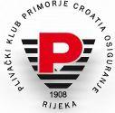 """Znak plivačkog kluba """"Primorje-Croatia osiguranje"""" iz Rijeke i link na njihovu matičnu stranicu"""