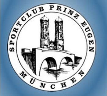 """Znak plivačkog kluba """"Prinz Eugen"""" iz Minhena, organizatora mitinga"""