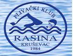 """Пливачки клуб """"Расина"""" из Крушевца, организатор митинга и линк на њихову званичну страницу"""