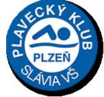 Знак пливачког клуба Славиа Плзен и линк на њихову страницу