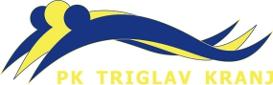 """Знак пливачког клуба """"Триглав"""" из Крања и линк на њихову матичну страницу"""