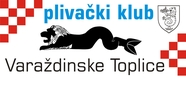 """Знак пливачког клуба """"Вараждинске Топлице"""" из Вараждинских Топлица"""