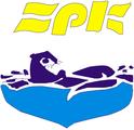 ЗПК - Загребачки пливачки клуб, знак организатора и линк на страницу