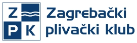 ZPK - Zagrebački plivački klub, znak organizatora i link na stranicu