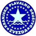 """Znak plivačkog kluba """"Zvezda"""" iz Kranja i link na njihovu stranicu"""