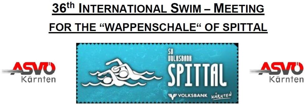 "36th Internationa Swim-Meeting for the ""Wappenschale"" of Spittal 2018 (AUT)"