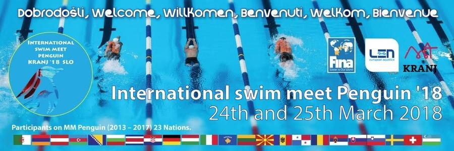 МПМ Пингвинчек 2018 (SLO), Традиционално такмичење пливачког клуба Крањ