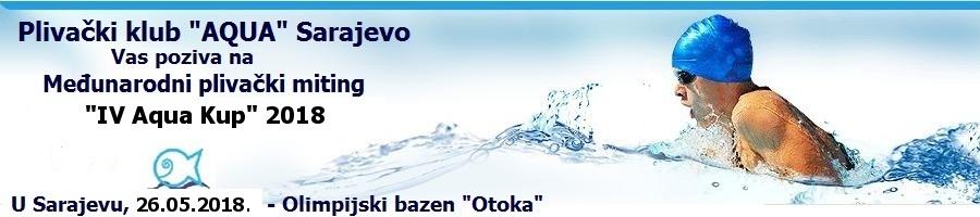 IV Aqua куп 2018, Сарајево, Босна и Херцеговина (BiH)