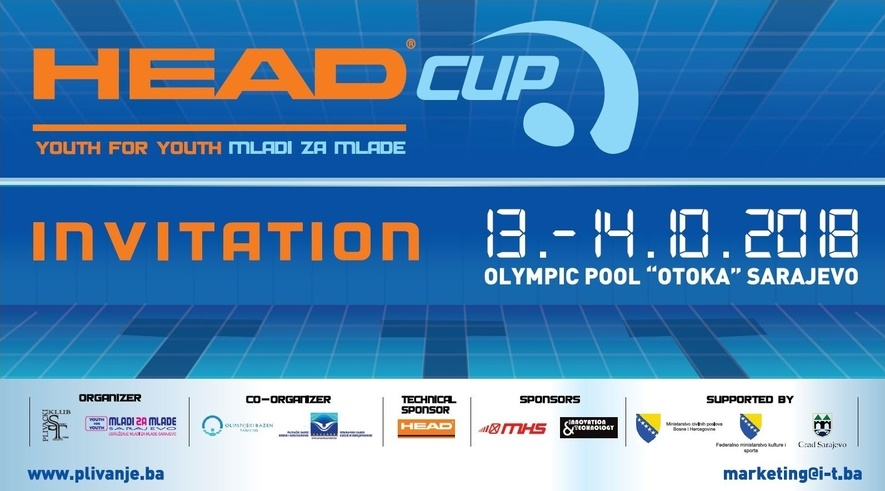 Head CUP - Mladi za mlade / Youth for youth 2018