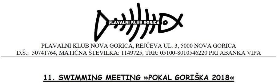 Pokal Goriška 2018 (SLO)