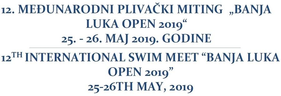 """Знак пливачког клуба """"Olymp"""", организатора такмичења и линк на њихову званичну страницу"""