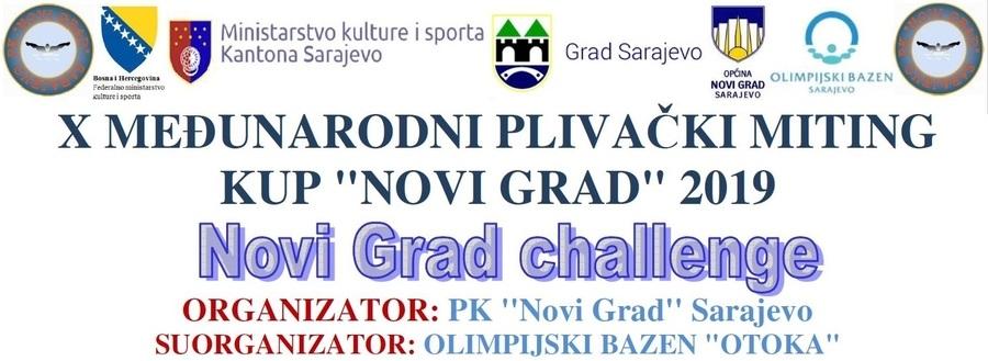 """Најава пливачког митинга 10. Куп """"Нови Град"""", Сарајево, 07.12.2019.године"""