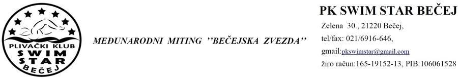 Бечејска Звезда 2019 (SRB)