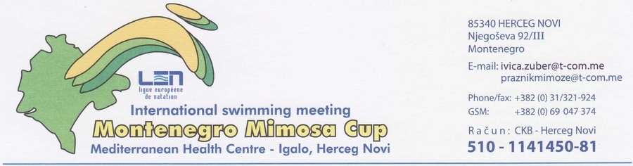 Montenegro Mimosa cup 2019 (MNE)