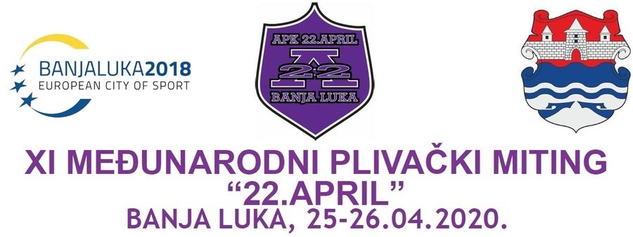 XI MPM 22. April 2020 (BiH)