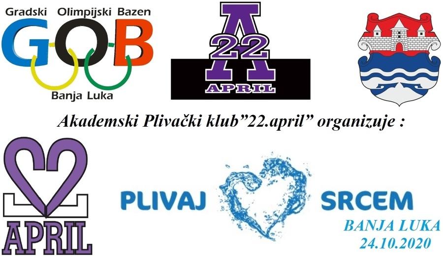 22. Април - Пливај срцем 2020 (BiH)